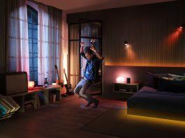 Philips Hue och Spotify